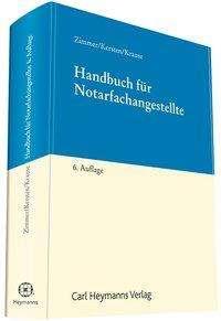 Andreas Kersten: Handbuch für Notarfachangestellte, Buch