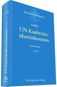 Wilhelm-Albrecht Achilles: UN-Kaufrechtsübereinkommen (CISG), Buch