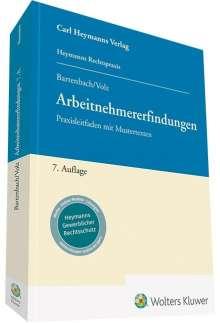 Kurt Bartenbach: Arbeitnehmererfindungen, Buch