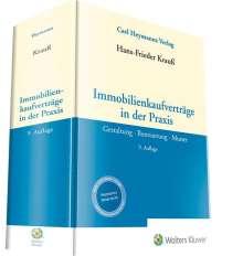 Hans-Frieder Krauß: Immobilienkaufverträge in der Praxis, Buch