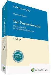 Helge B. Cohausz: Das Patentsekretariat, Buch