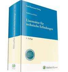Ortwin Hellebrand: Lizenzsätze für technische Erfindungen, Buch