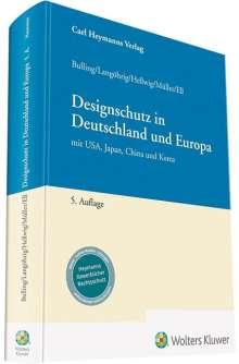 Alexander Bulling: Designschutz, Buch