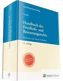 Torsten F. Barthel: Gaedke, Handbuch des Friedhofs- und Bestattungsrechts, Buch