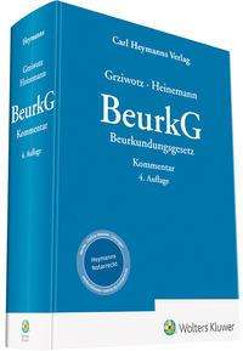 Herbert Grziwotz: BeurkG - Kommentar, Buch