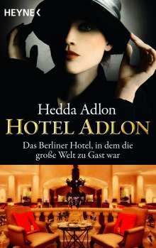 Hedda Adlon: Hotel Adlon, Buch