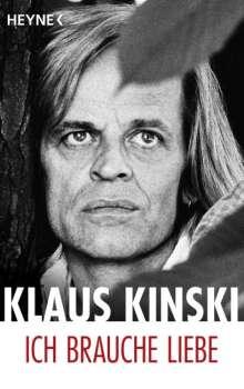 Klaus Kinski: Ich brauche Liebe, Buch