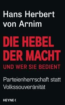 Hans Herbert von Arnim: Die Hebel der Macht, Buch