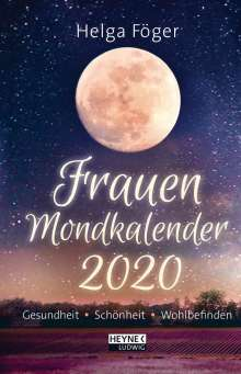 Helga Föger: Frauen Mondkalender 2020 Taschenkalender, Diverse