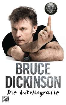 Bruce Dickinson: What Does This Button Do?, Buch