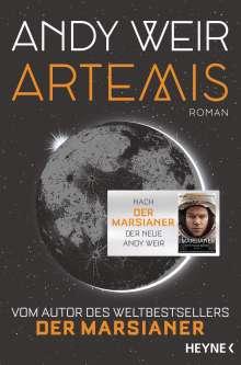 Andy Weir: Artemis, Buch