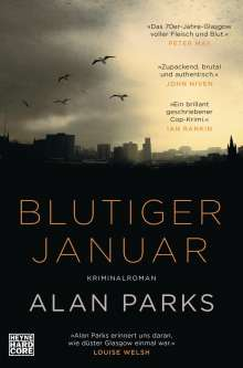 Alan Parks: Blutiger Januar, Buch