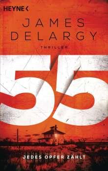 James Delargy: 55 - Jedes Opfer zählt, Buch