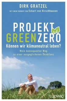 Dirk Gratzel: Projekt Green Zero, Buch