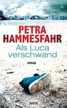 Petra Hammesfahr: Als Luca verschwand, Buch