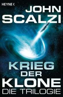 John Scalzi: Krieg der Klone - Die Trilogie, Buch