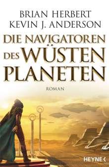 Brian Herbert: Die Navigatoren des Wüstenplaneten, Buch