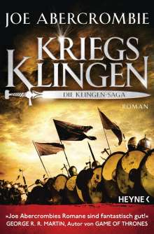 Joe Abercrombie: Kriegsklingen - Die Klingen-Saga, Buch