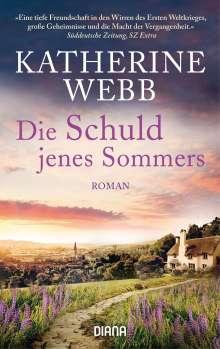Katherine Webb: Die Schuld jenes Sommers, Buch