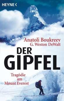 Anatoli Boukreev: Der Gipfel, Buch