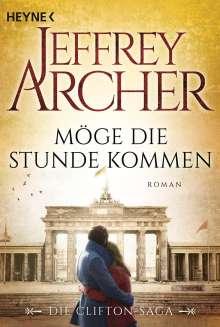 Jeffrey Archer: Möge die Stunde kommen, Buch