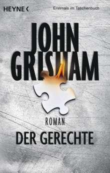 John Grisham: Der Gerechte, Buch