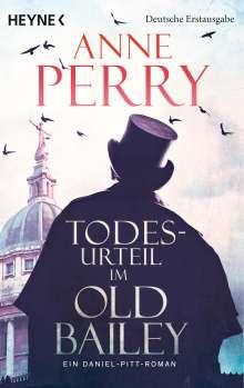 Anne Perry: Todesurteil im Old Bailey, Buch