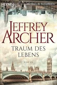 Jeffrey Archer: Traum des Lebens, Buch