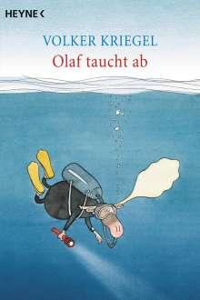 Volker Kriegel: Olaf taucht ab, Buch