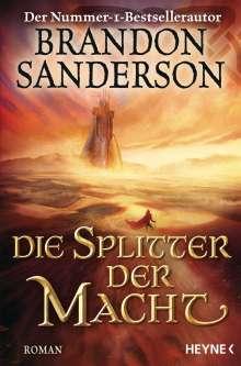 Brandon Sanderson: Die Splitter der Macht, Buch
