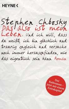 Stephen Chbosky: Das also ist mein Leben, Buch