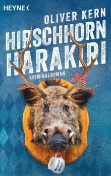 Oliver Kern: Hirschhornharakiri, Buch
