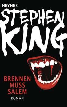 Stephen King: Brennen muss Salem, Buch