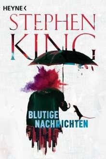 Stephen King: Blutige Nachrichten, Buch