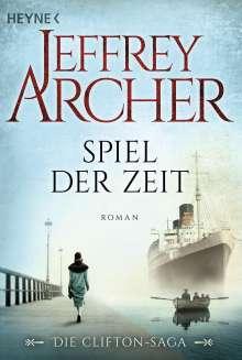 Jeffrey Archer: Spiel der Zeit, Buch