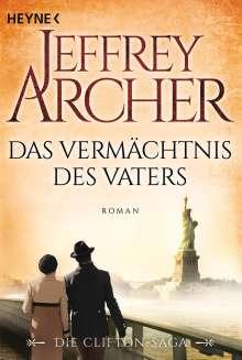 Jeffrey Archer: Das Vermächtnis des Vaters, Buch