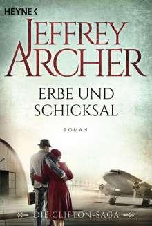 Jeffrey Archer: Erbe und Schicksal, Buch