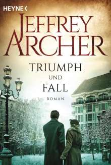 Jeffrey Archer: Triumph und Fall, Buch
