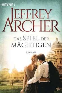 Jeffrey Archer: Das Spiel der Mächtigen, Buch