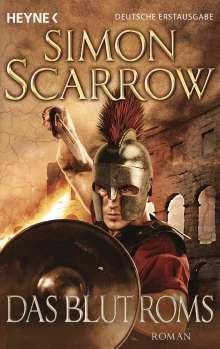Simon Scarrow: Das Blut Roms, Buch