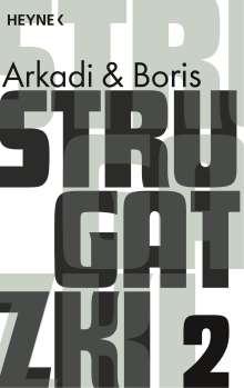 Arkadi Strugatzki: Gesammelte Werke 2, Buch