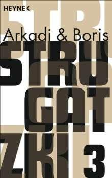 Arkadi Strugatzki: Gesammelte Werke 3, Buch