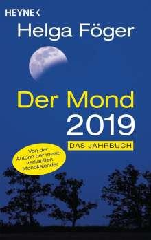 Helga Föger: Der Mond 2019, Buch