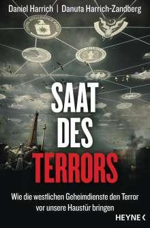 Daniel Harrich: Saat des Terrors, Buch