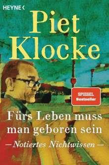 Piet Klocke: Viele Antworten können mit ihren Fragen nichts anfangen, Buch
