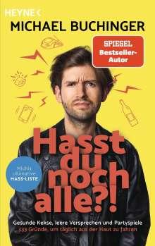 Michael Buchinger: Hasst du noch alle?!, Buch