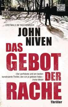 John Niven: Das Gebot der Rache, Buch