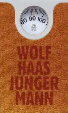 Wolf Haas: Junger Mann, Buch