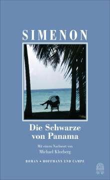 Georges Simenon: Die Schwarze von Panama, Buch