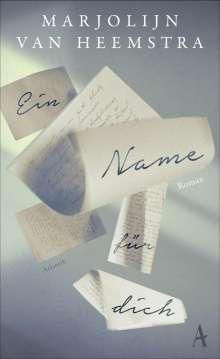 Marjolijn Van Heemstra: Ein Name für Dich, Buch